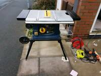 "Portable Table Saw 10"" Blade £60 No Offers Read The Description"