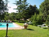 owner direct rent apatment 4+2 in Tuscany near Florence in villa with swimming pool