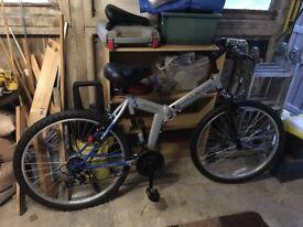 "20"" folding mountain bike - brand new"