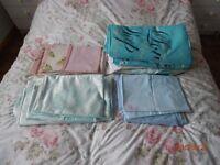 four assorted double duvet sets