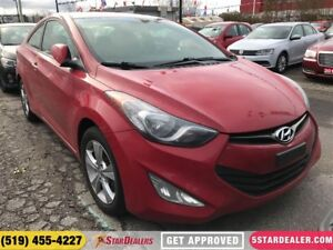 2013 Hyundai Elantra GLS | ONE OWNER | ROOF | HEATED SEATS