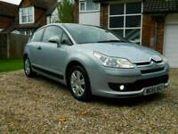Citroen c4 vtr 1.4 petrol manual in immaculate condition with low miles