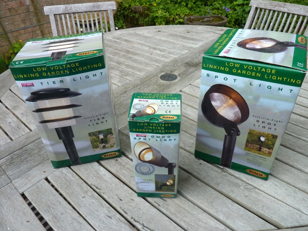 Ring Select A Light Linkable Garden Lighting System Boxed And Never Used