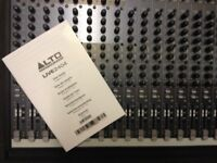 ALTO Live 2404 24-Channel Mixer Mixing Desk + Flightcase * Nearly New * Mint