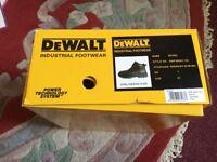 Brand new DEWALT Industrial Footwear (Nickel) in original box. UK Size 7