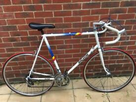 Vintage Raleigh road racing touring city bike - large size