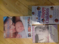 3 baby and young children guide books