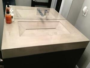Custom concrete countertops and more London Ontario image 3