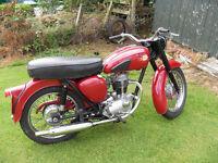 1961 bsa c15 250cc,