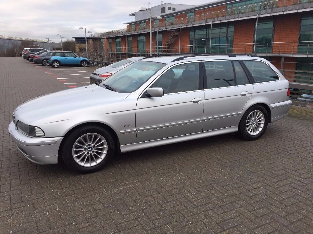 2002 bmw e39 525d se touring 110k miles titanium silver. Black Bedroom Furniture Sets. Home Design Ideas