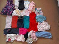 2x Girls clothes bundles 4+5&5+6yrs collect ml5