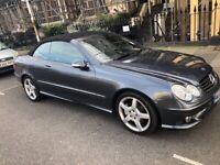 Mercedes-Benz, CLK, Convertible, 2008, Semi-Auto, 1796 (cc), 2 doors