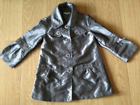 Tammy Girl stylish silver coat 9-10 years (140-146cm)