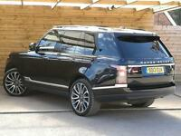 Land Rover Range Rover 4.4 SDV8 Autobiography 4dr Auto FULL SPECIFICATION (santorini black) 2013