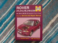 haynes car book