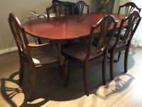 Strongbow Dining Table and Chairs
