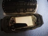 PSP console, Case and Games