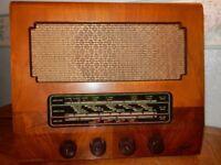 Marconi T26A Vintage Valve Radio with Bluetooth