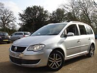 / VW VOLKSWAGEN TOURAN 1.9 TDI SE /// 2008 PLATE NEWER SHAPE /// PCO/UBER/PERSONAL USE 7 SEATER ///