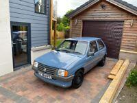 Vauxhall, NOVA, 1986, 1196 (cc)