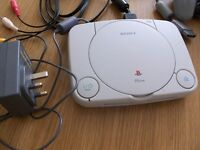 SONY PS1 WITH DANCE MATTS