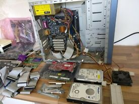 Computer and parts