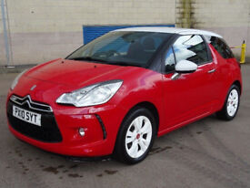 CITROEN DS3 1.6 DSTYLE 3d 120 BHP CRUISE CONTROL SERVICE RECORD ++
