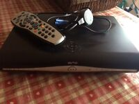Sky + Hd box, with viewing card etc