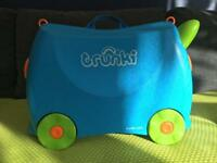 Trunki suitcase for children. Collection from Battersea.