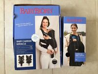 Baby Bjorn Miracle Carrier & Fleece Cover