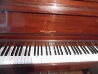 upright piano by baratt and robinson