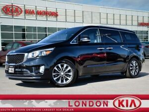 2016 Kia Sedona SX+ 1 owner, Accident free, All service records