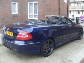 2004 | MERCEDES BENZ CLK 3.2 | CONVERTIBLE | ONE OWNER FROM NEW | SERVICE HISTORY | 3995