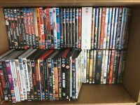 98 DVDS INCLUDING BOXSETS & 50+ BOOKS