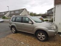 Nissan xtrail sport DCi suv 4x4 spares or repairs