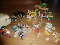 Bundle of Sylvanian Families - lots included!
