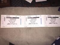 3x You Me At Six tickets