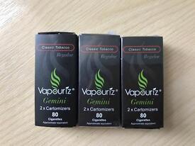 Vapouriz Gemini e-cigarette + 6 cartomizers
