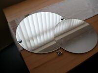 Round Mirror x 2