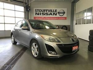 2010 Mazda MAZDA3 GT Alloy Wheels and Power Sunroof