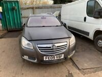 2009 Vauxhall Insignia Elite Estate 1.8 Petrol Grey BREAKING FOR SPARES