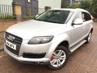 Audi Q7 Sline 2007 (14reg Plate) Diesel, Full leather Seats, Full Service history, HPI clear, 2 Key