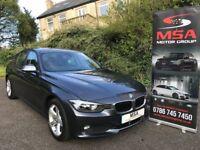 2013 BMW 320D FBMWSH SAT NAV LEATHER 184BHP FREE WARRANTY diesel 3 series 2.0 SE m sport 4dr a3 a4 +