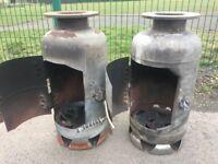 Handmade Bespoke Log Burner / Patio Heater / Chimenea Will Last Forever