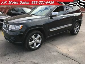 2013 Jeep Grand Cherokee Overland, Automatic, Navigation, Leathe