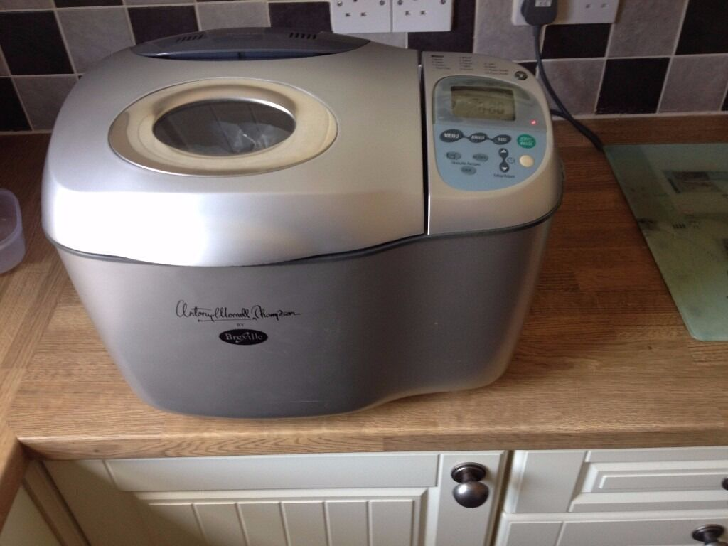Breville Antony Worral Thompson BR11 Professional Breadmakerin Dorchester, DorsetGumtree - Bread maker used couple of times. Full working order. Device has very extensive menu. My recommendations