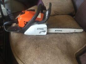 Stilh ms181 chainsaw