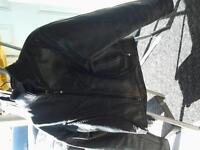 Motorcycle Helmets, Leather Jacket with matching chaps