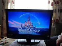 22in TV with built in DVD player and freeview