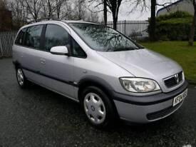 Vauxhall zafira 2.0dti 7 SEATER
